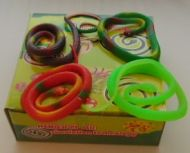 65 cm Rubber Snakes (dozen)
