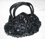 Sequin Tie Purse