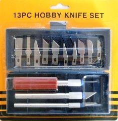 13 pc Hobby Knife Set
