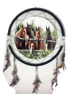 """24"""" Horse Mandala"""