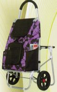 Aluminum Flower Cart with Seat