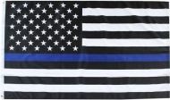 "3 x 5 Flag ""Police Blue Line"""