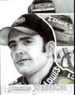 Jimmie Johnson B/W Graphic Art