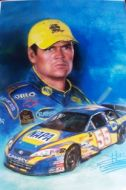 Michael Waltrip Graphic Art