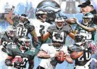 Eagles Team Graphic Art