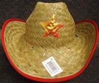 Youth Cowboy Hat with Star (Red)