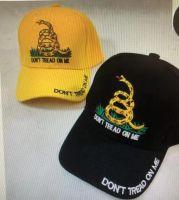 "Baseball Cap ""Don't Tread on Me"" (2 Assorted)"