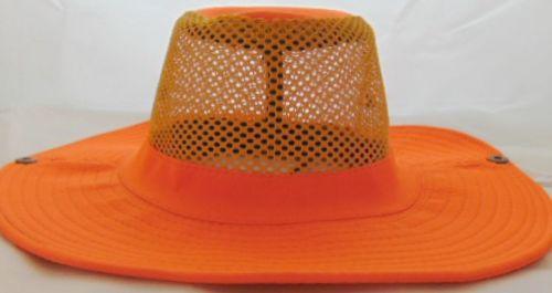 Neon Safari Hat Orange