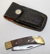 Knife w/Sheath
