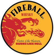 "15"" Dome Sign ""Fireball Yellow"""