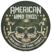"""15"""" Dome """"Armed Forces"""""""