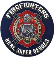 """15"""" Dome """"Firefighters"""""""
