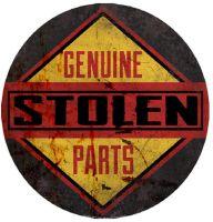 """15"""" Dome """"Stolen Parts"""""""
