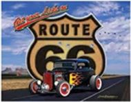 """12 x 15 Metal Sign """"Get Your Kicks: Route 66"""""""