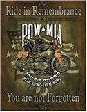 """12 x 15 Metal Sign """"Ride in Remembrance"""""""