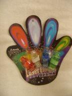 4 pc Finger Lights
