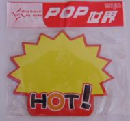 """20 pc """"Hot"""" Paper Tag"""